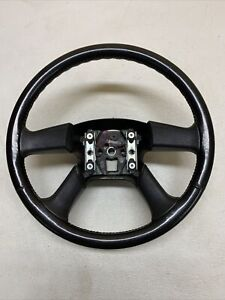 03 06 Chevy Silverado Gmc Sierra More Genuine Oem Steering Wheel Black