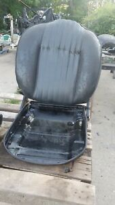 Fiat 124 Spider 72 78 Passenger Seat For Rebuild Re upholstery