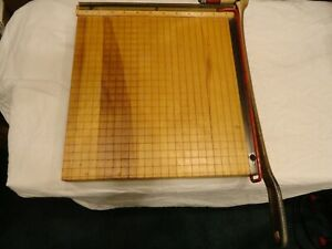 Used 12 X 12 Ingento Paper Cutter Ideal School Supply Company