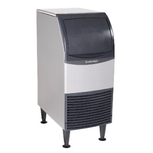 Scotsman Un0815a 1 Undercounter Ice Maker With Bin Nugget Ice 79 Lbs 24 Hrs