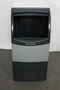 Ding Dent Scotsman Un0815a 1 Undercounter Ice Maker With Bin Nugget Ice