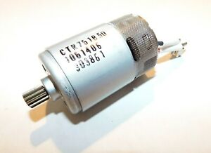 Snap on Ctr761 725 Series 14 4v Cordless Ratchets Repair Motor New