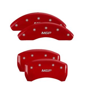 Mgp 4 Caliper Covers Red For 2014 2019 Mercedes Benz Cla250 23202smgprd