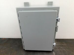 Hoffman Electrical Enclosure A161208lp 16 x12 x8 Electric Box Cabinet