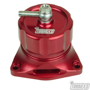 Turbo Xs Hybrid Blow Off Valve red For Honda 16 Civic si accord