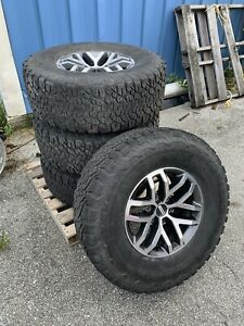 Ford F 150 Raptor Oem Take Offs Wheels And Tires With Tpms