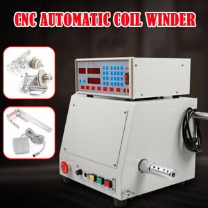 Eu 220v 400w Automatic Coil Winder Cnc Winder Winding Machine 0 03 1 2mm Wire