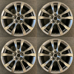 Set Of 4 New 19 Hyper Silver Wheels For 2014 2017 Mazda 6 Oem Quality 64958c
