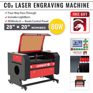 Omtech Co2 Lcd Laser Engraver Cutter Engraving Cutting Carving K40 12 x 8 40w