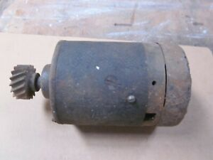 Vintage Starter For Parts Or Rebuild May Be For A Ford Flathead V 8