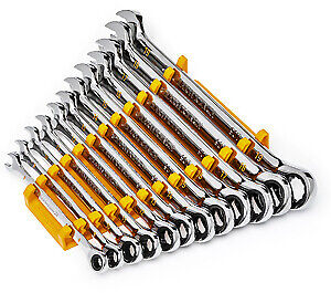 Gearwrench Kd 86927 12 Pc 90t Metric Combo Ratcheting Wrench Set Brand New