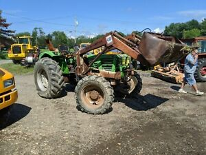 Deutz 6806 4x4 Tractor With Loader