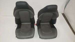 04 08 Chrysler Crossfire Front 2 Tone Gray Power Seats Leather Seat Oem Nice