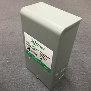 Zoeller Well Pump Control Box 3 4 Hp For 3 wire Submersible Well Pumps 1010 2337