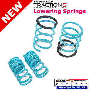 Traction s Lowering Springs For Acura Rsx Dc5 2005 2006 Godspeed Ls ts aa 0005