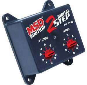 Msd Ignition Digital 2 step Rev Control For 6425 Box 8732
