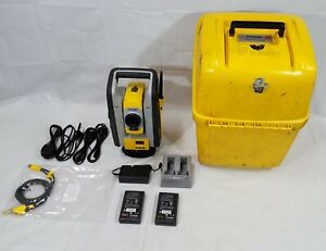 Trimble Rts773 Vision Dr Hp Robotic Total Station W Batteries Charger In Case