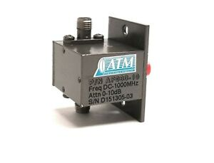 Atm Rf Variable Attenuator Af033 10 Dc 1000 Mhz 50 Ohm Sma 0 10db