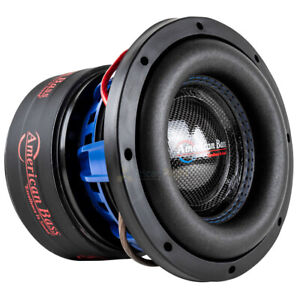 American Bass HD 8D2 8quot; Competition Subwoofer 800W Max Dual 2 Ohm Car Audio Sub $199.95