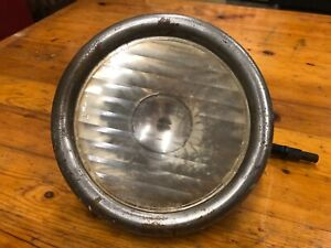 Model T Ford Headlight Housing With Original Ford Scripted Lens