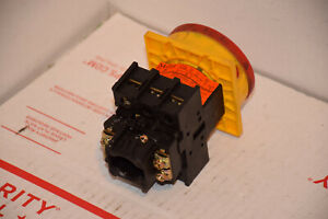 Moeller P1 25 Disconnect Switch 3 Pole With Yellow red Operator 702