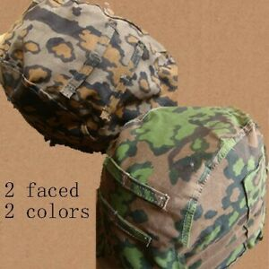Tactical Cover 2 Surfaces 2 Colors Spot Camouflage For German M35 Steel Helmet $26.99