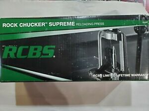 New RCBS Rock Chucker Supreme Reloading Press $274.99