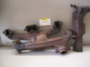 1965 74 Dodge plymouth Exhaust Manifolds 3512077 2843953 273 318 V 8 Engines