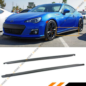 For 13 2020 Subaru Brz Scion Fr S 86 Cs Style Side Skirt Extension Splitter Lip