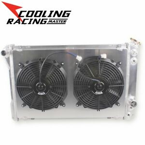 3 Row Radiator Withfans Combo For 1982 1992 Chevy Camaro Firebird 25l 50l 57l Fits Camaro