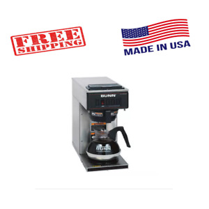 Bunn Vp17 1 Low Profile Commercial Pour Over Coffee Maker For Office Restaurant