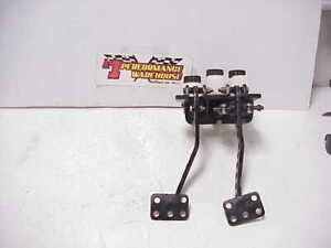 Hanging Dual Forward Mount With Tilton Clutch Brake Pedals Master Cylinders