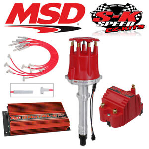 Msd 9501 Ignition Kit Digital 6 Plus distributor wires coil Big Block Chevy