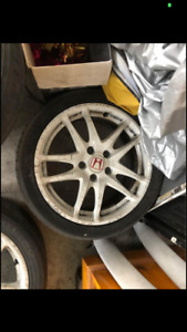 Used Genuine Authentic Honda Dc5 Rims only Wheels N Tires