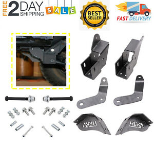 Front Control Arm Relocation Set For 1984 2001 Jeep Cherokee Xj 4 5 Up Lift