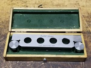 Doall Gages 5 Five Inch Sine Bar With Box Excellent