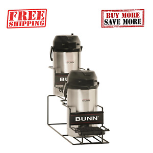 Bunn Universal Airpot Rack For 2 Airpots 1 Up 1 Down Portable Easy To Clean