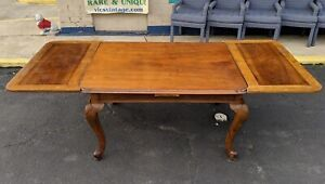 French Farm Table Draw Leaf Sides