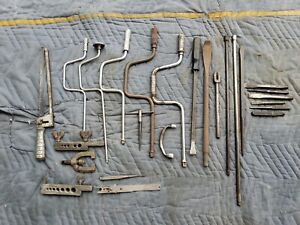 Snap On Blue Point Vintage Lot 25 Piece Speed Wrenches Extensions Punches