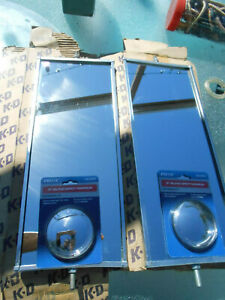 Nos K d Vintage Truck van Side View West Coast Mirrors pair Extras