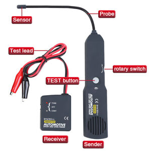 Automotive Short Open Finder Cable Circuit Em415pro Car Wire Tracker Tester Tool