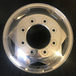 17 Chevy Silverado Gmc Sierra 3500 11 19 Dually Front Factory Wheel Oem Rim 5519