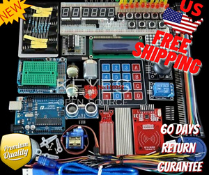 Beginner Diy Project Board Starter Kit For Arduino Uno R3 Lcd Servo Processing