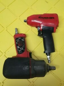 Snapon Mg325 ingersoll Rand 2135 Timax 3 8 1 2 Dr Impact Air Wrench Combo