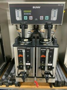 Bunn Commercial Coffee Maker Dual Sh Dbc Includes Softheat Servers