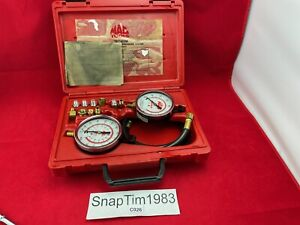 Mac Tools Tpt455m Transmission oil Pressure Tester With Case And Adapters