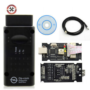 Op Com V1 99 For Opel For S Aabchip Pic18f458 Ftdi Chip Hw Can Bus Interface