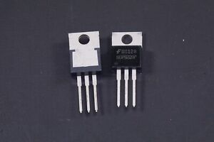 Lot Of 2 Ndp6020p Fairchild Transistor P channel To 220 Ndp Series Dmos 3 pin