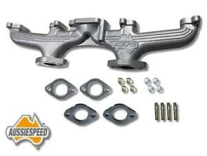 Ford Six 144 170 221 200 250 Cast Iron Dual Exhaust Header 6cyl Manifold