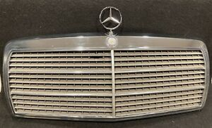 1984 1993 Mercedes W201 190e 190d Complete Front Chrome Grill Grille 2018880223